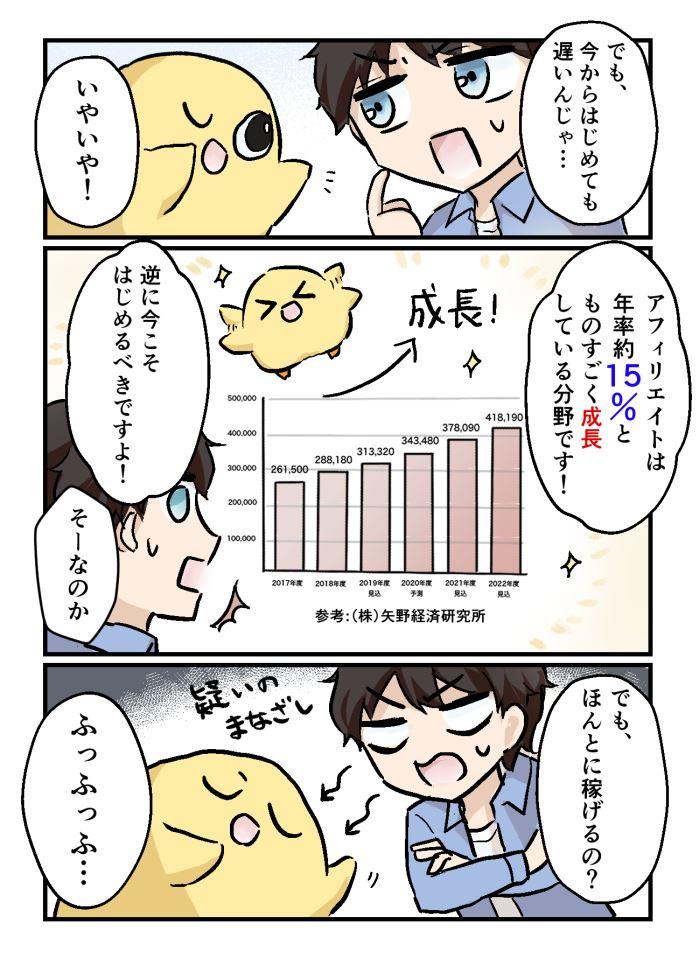 ちょろマンガ06