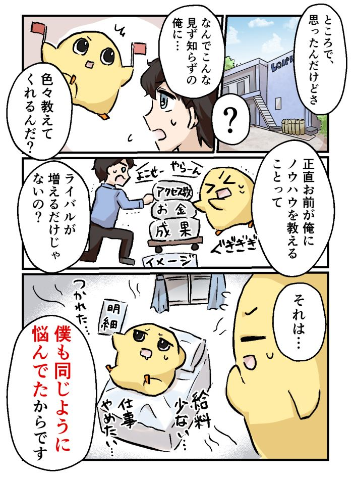 ちょろマンガ19